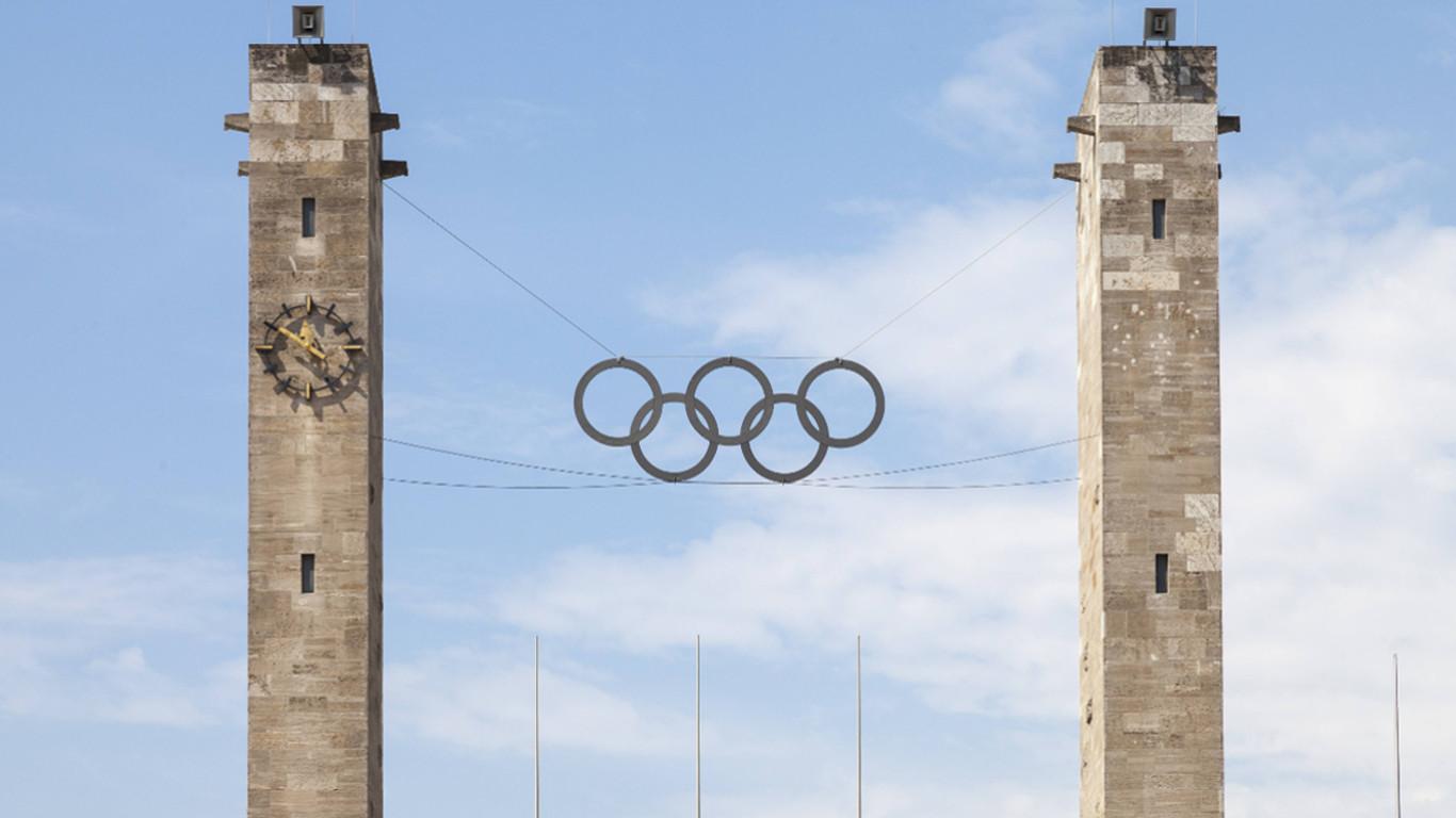 Das Berliner Olympiastadion heute
