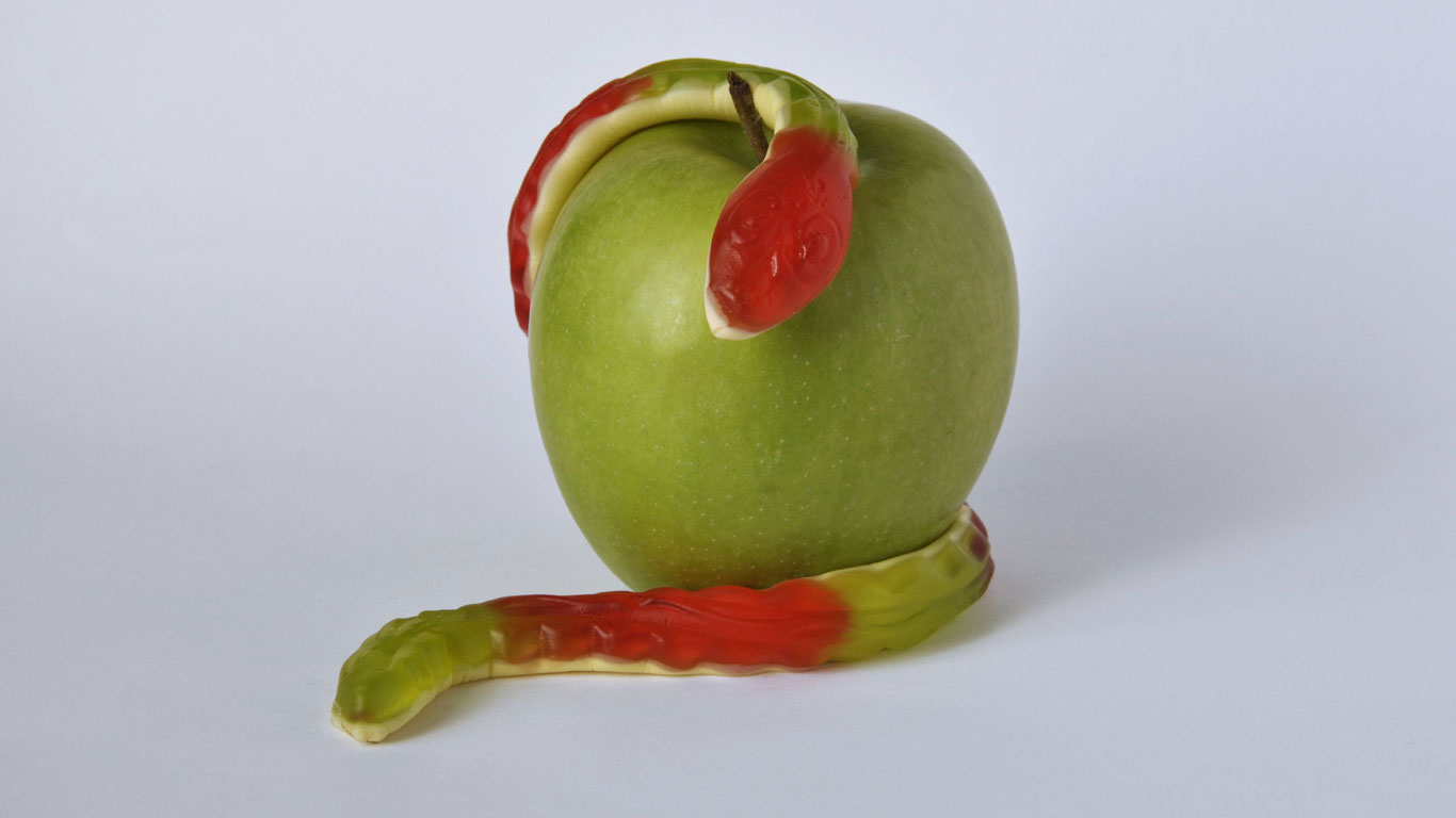 Der böse Apfel