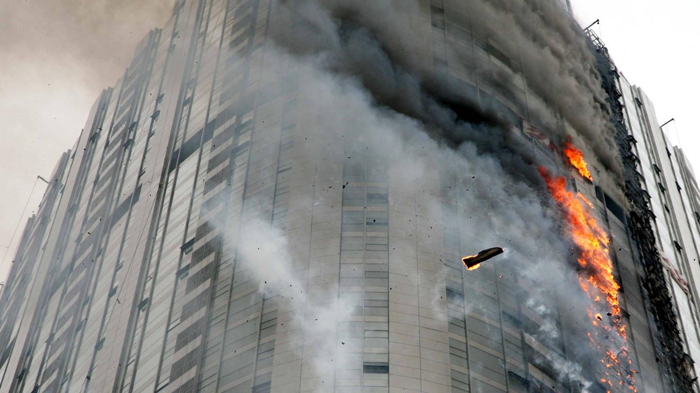 Februar 1974: Hochhausbrand von Sao Paulo