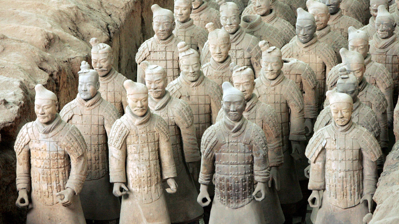 Unsterblicher Kaiser: Qins Grabanalage
