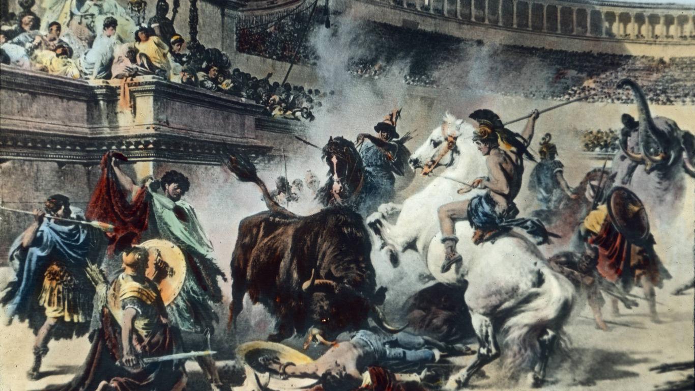 Waren Gladiatoren wirklich dem Tod geweiht?