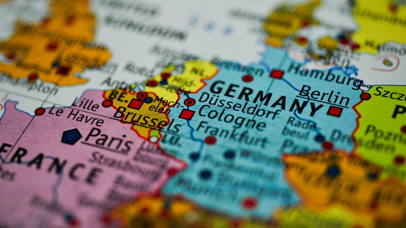 Verteilt über ganz Deutschland