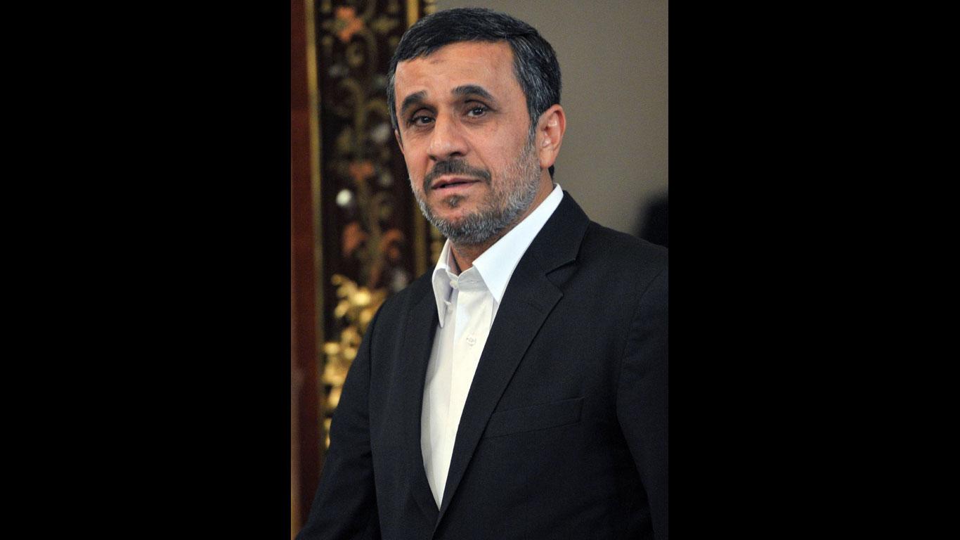 Geiseln erkennen Ahmadinedschad wieder