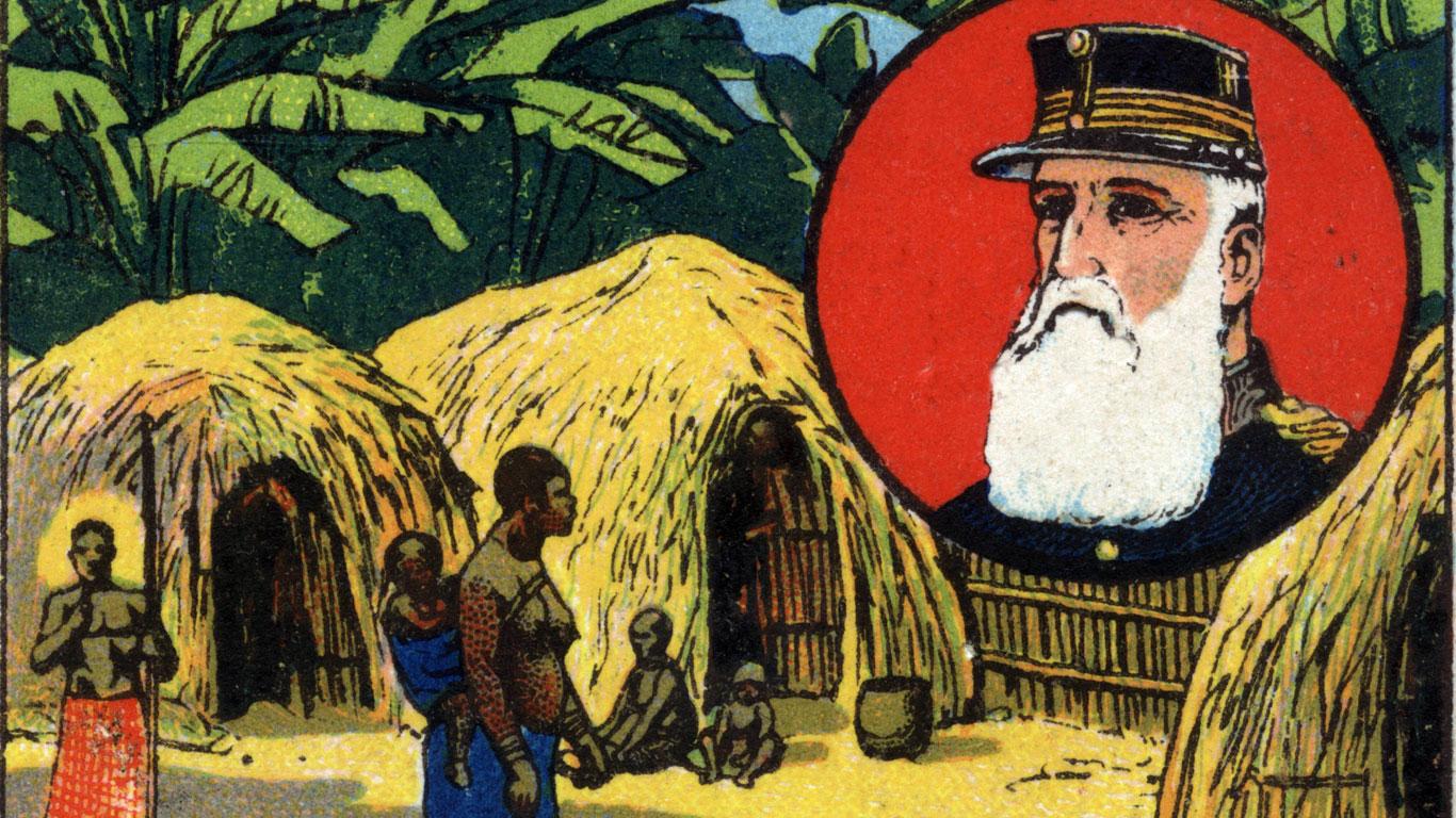 Leopold II. herrscht über den Kongo wie der Teufel über die Hölle