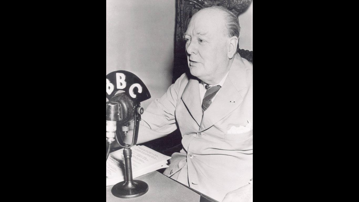 Churchill hatte durchaus Skrupel