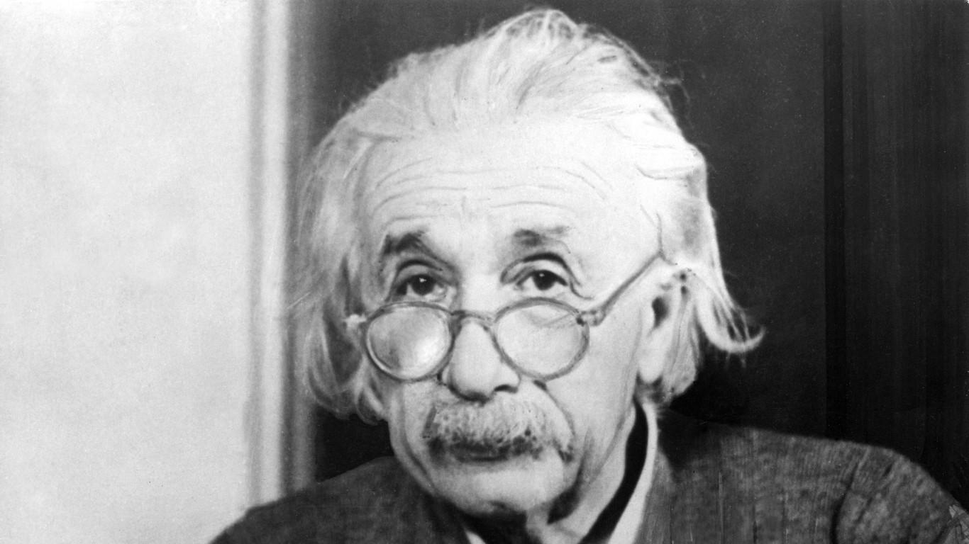 Entdecker der Relativitätstheorie: Albert Einstein