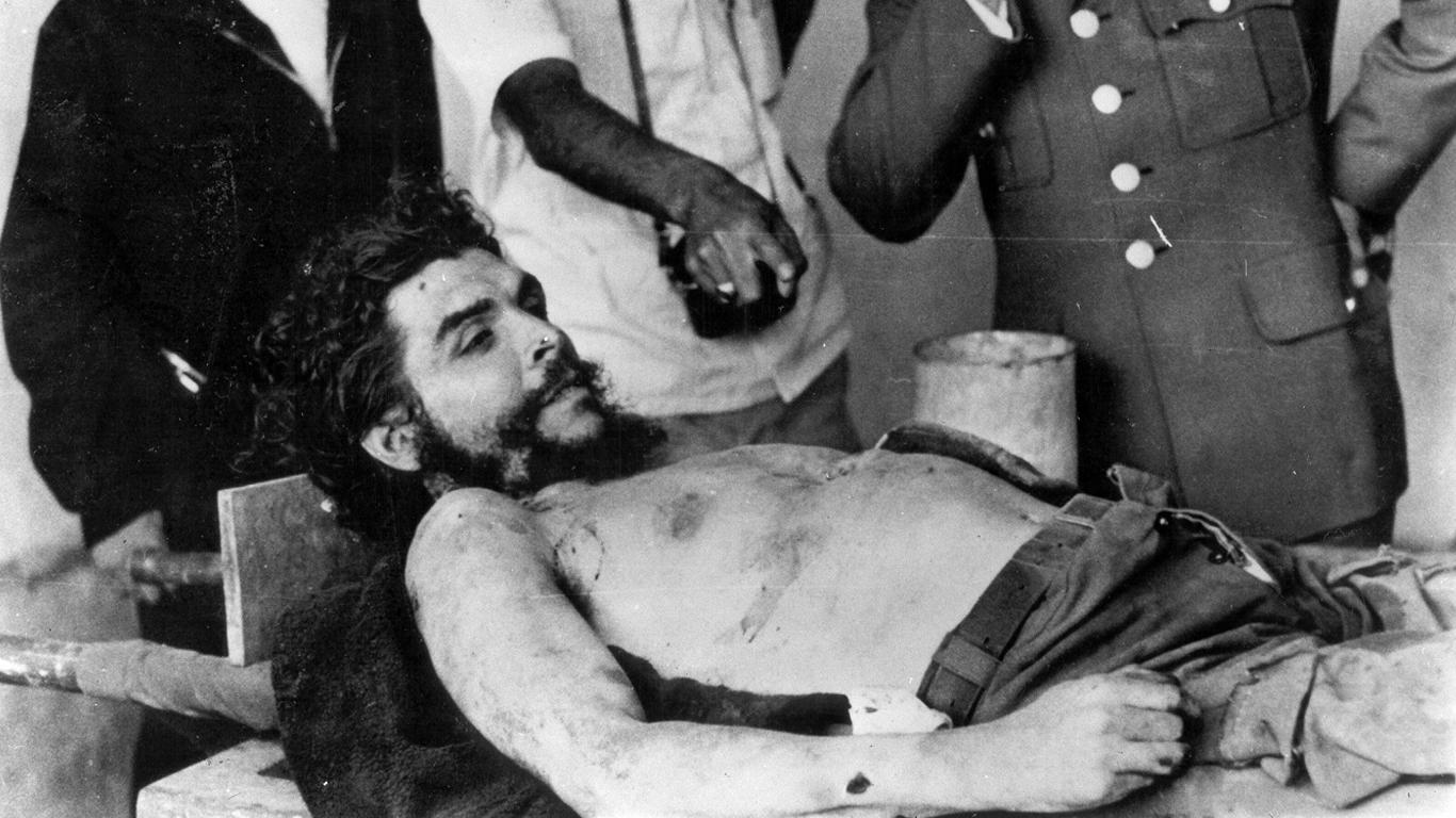 Che Guevaras Hände