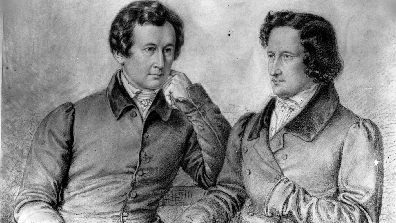 Die Brüder Jacob und Wilhelm Grimm