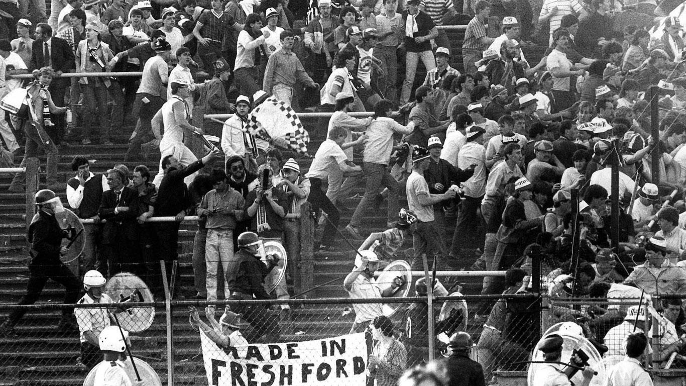 Massenpanik im Stadion