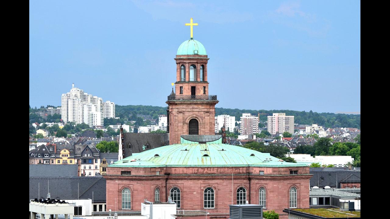 Welche Kirche wurde zum ersten Reichstag?