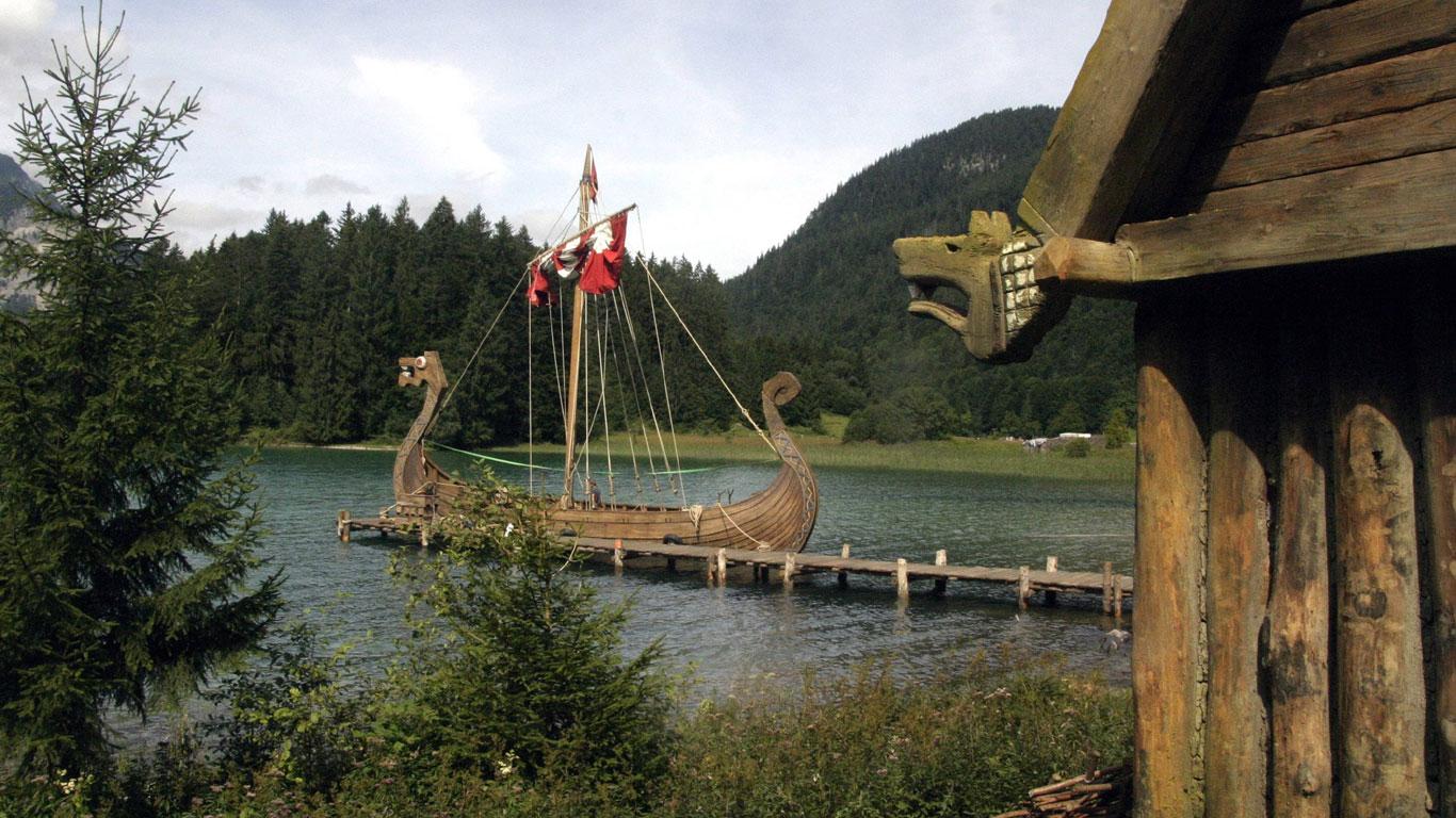 Die Drachenschiffe der Wikinger