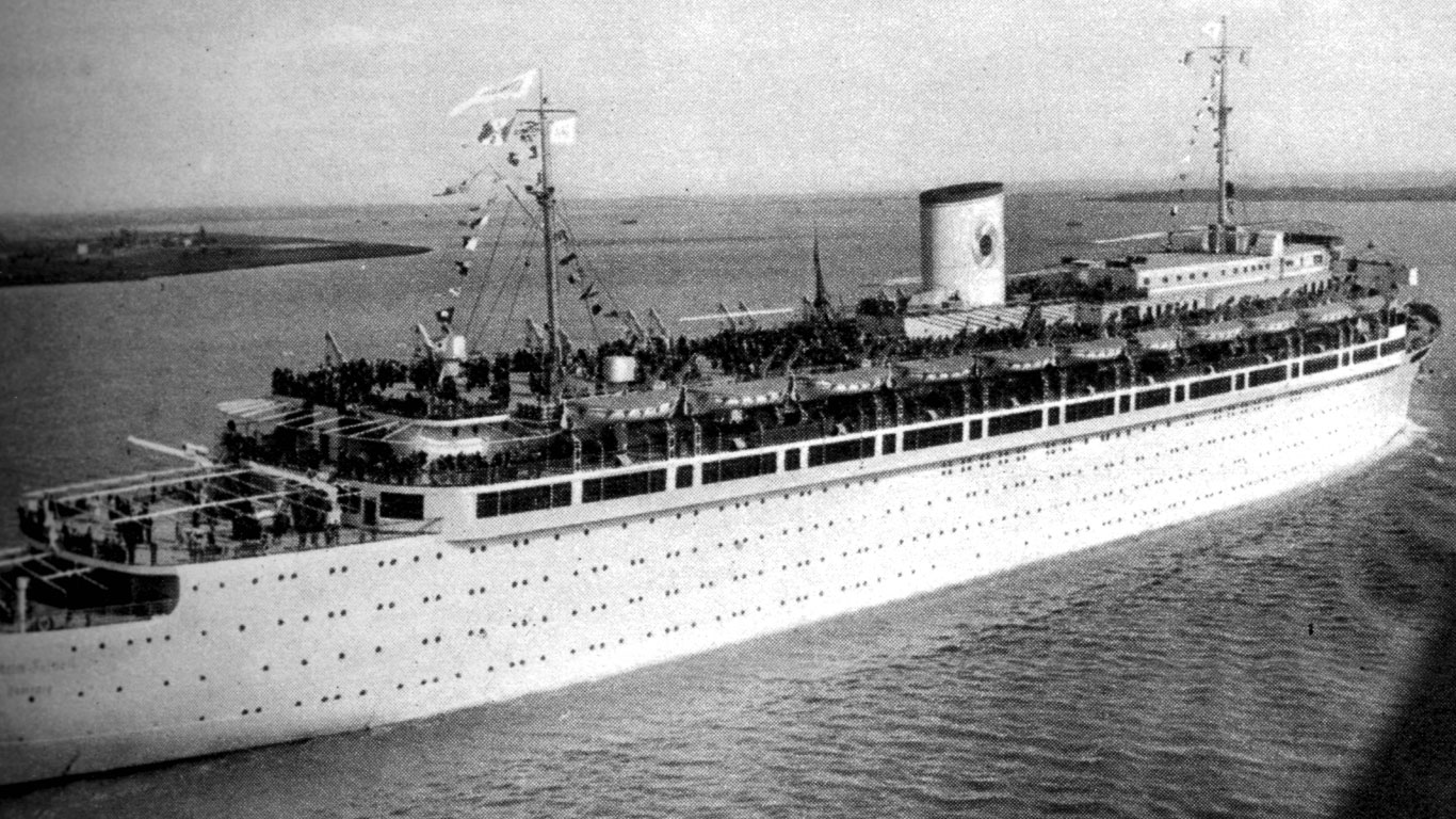 Russen hielten die Wilhelm Gustloff für ein Kriegsschiff