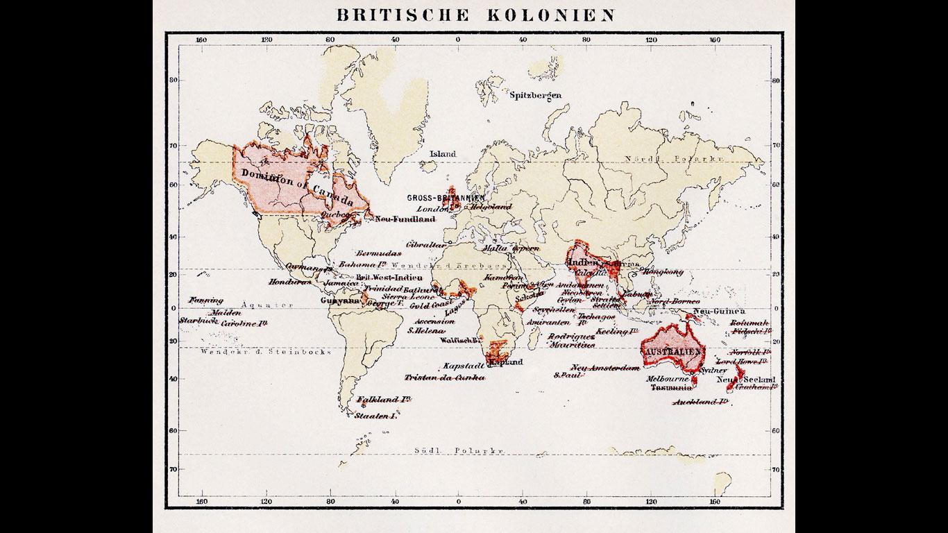Britische Kolonien
