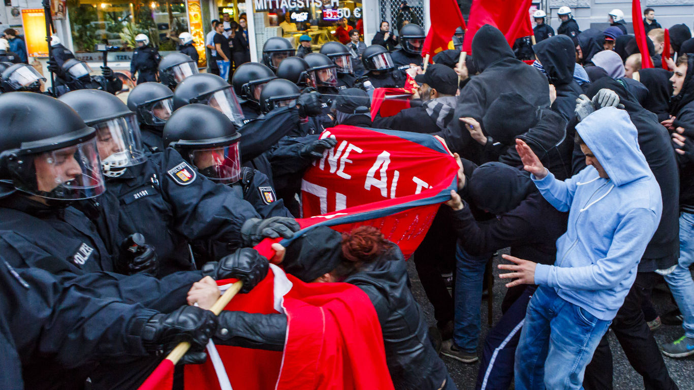 Steht Europa vor einem Bürgerkrieg?