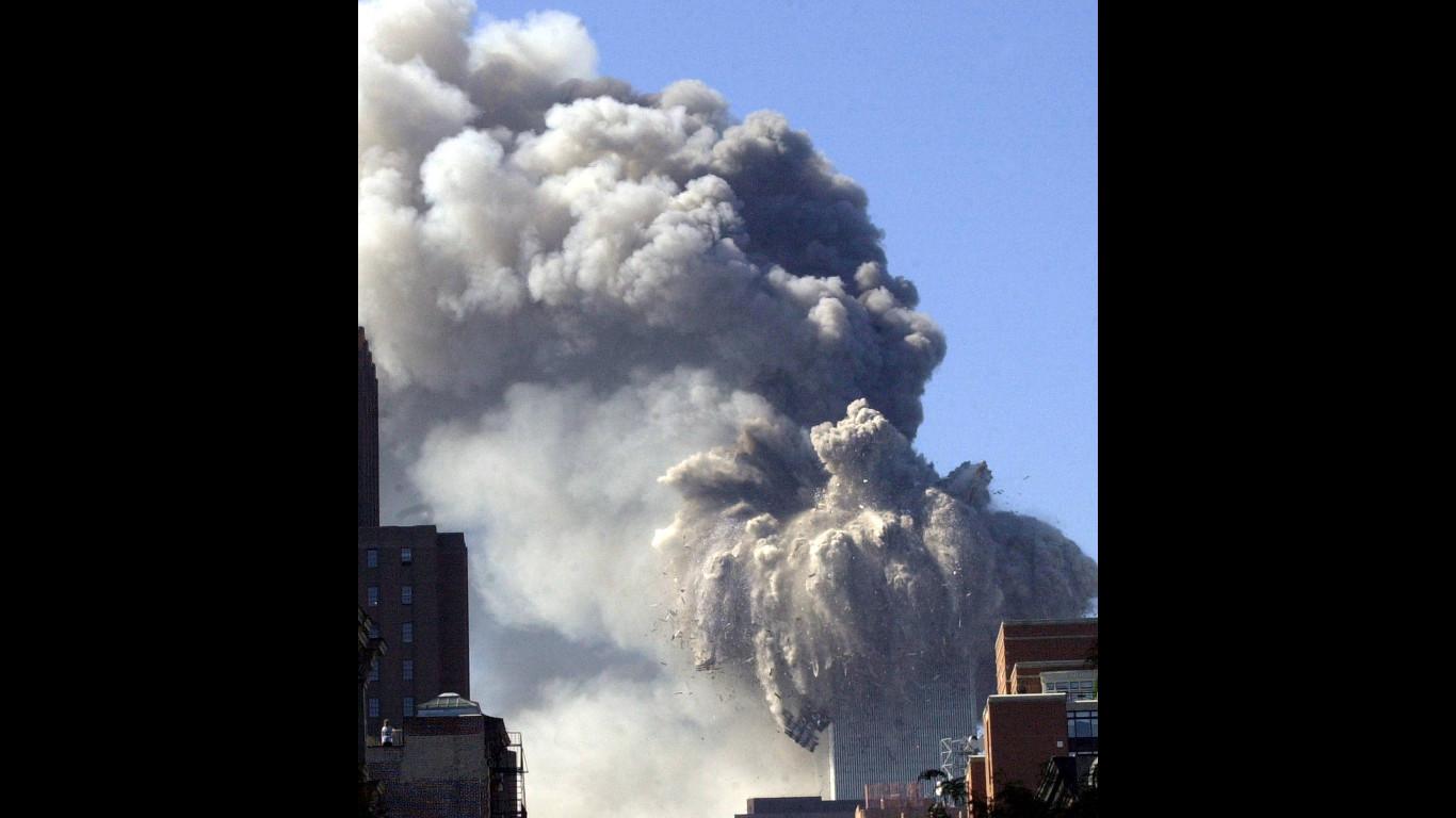 Warum stürzte der Südturm des World Trade Center zuerst ein?