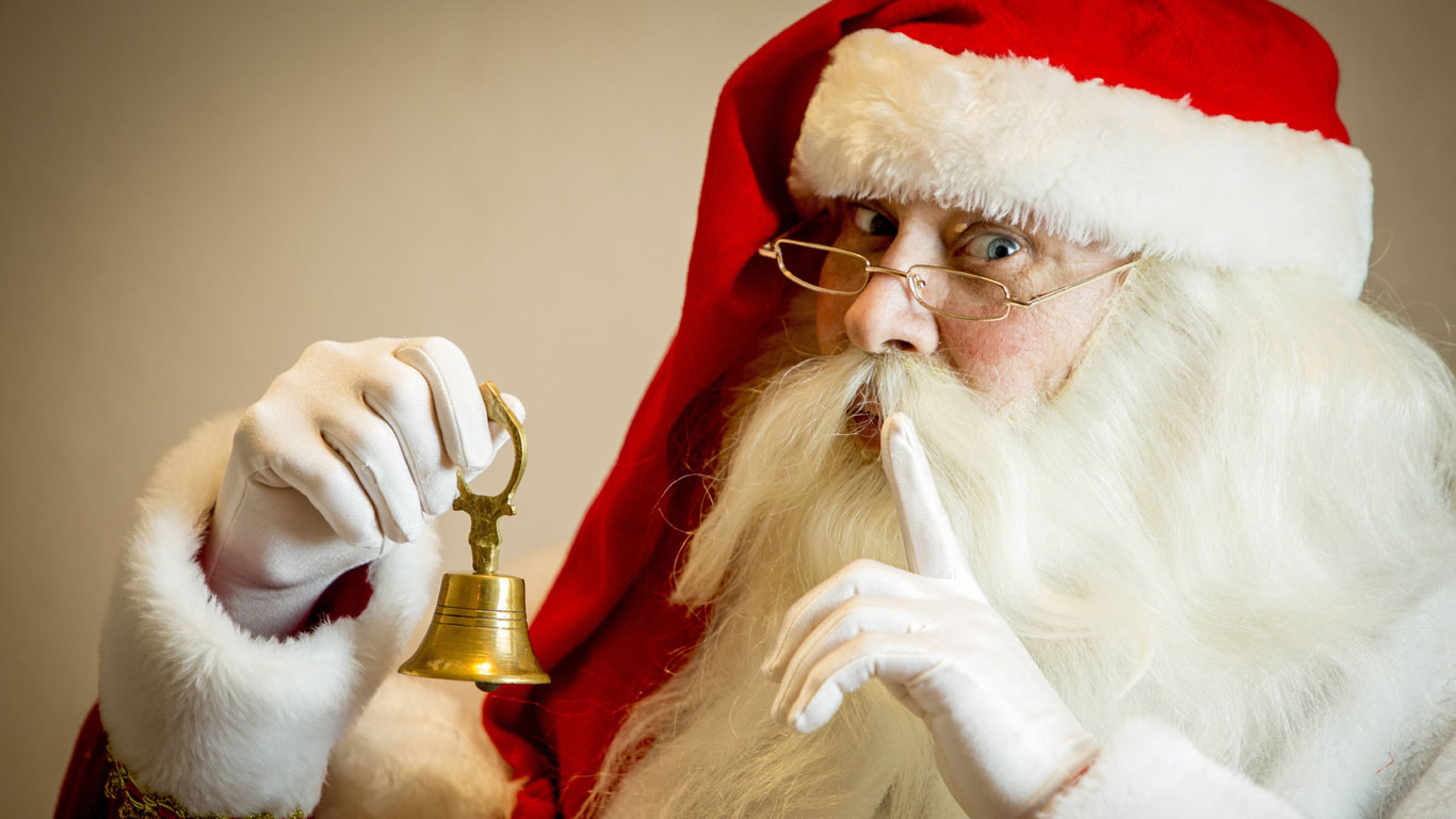 Auf den Spuren des Weihnachtsmannes