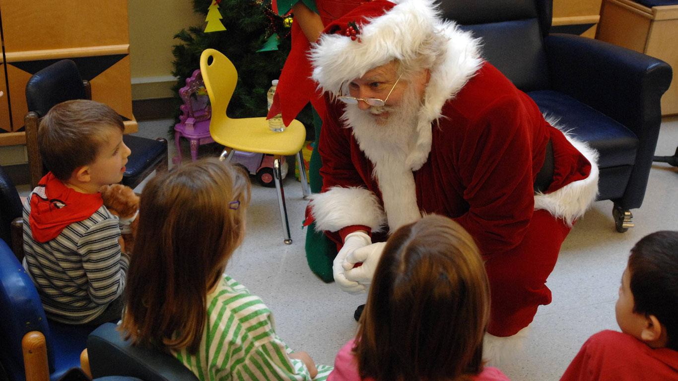 Weil der Weihnachtsmann die Welt verzaubert...