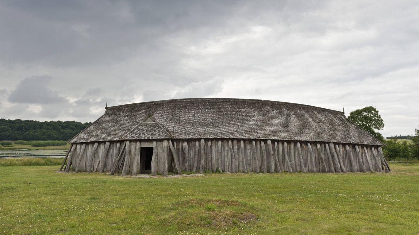 Wie wohnten die Wikinger?