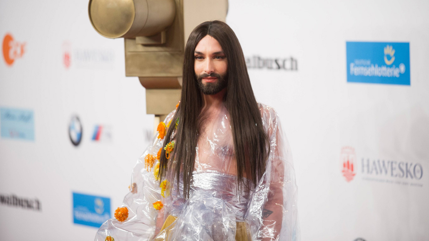 Conchita Wurst hat HIV