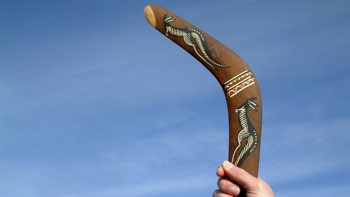 Ein echter Bumerang kommt immer zurück