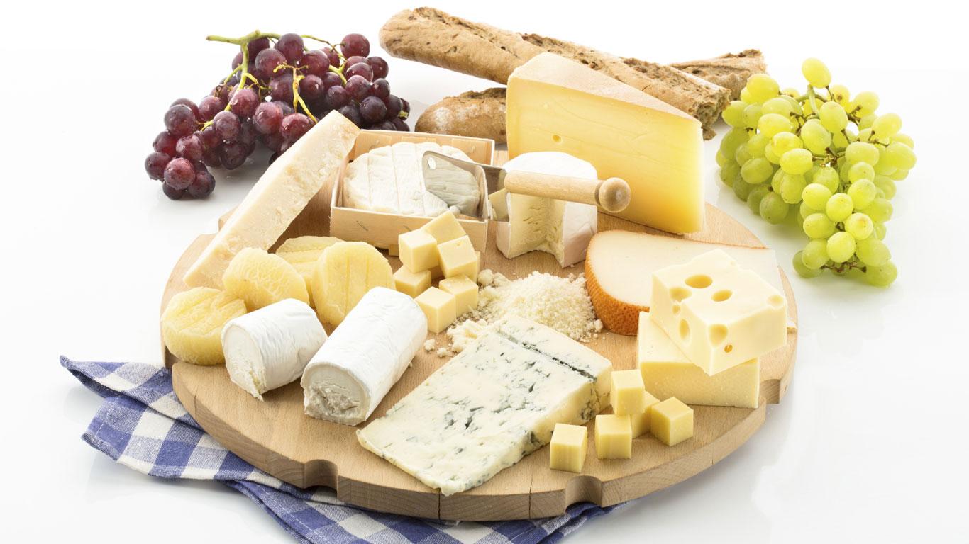 Käse schließt den Magen