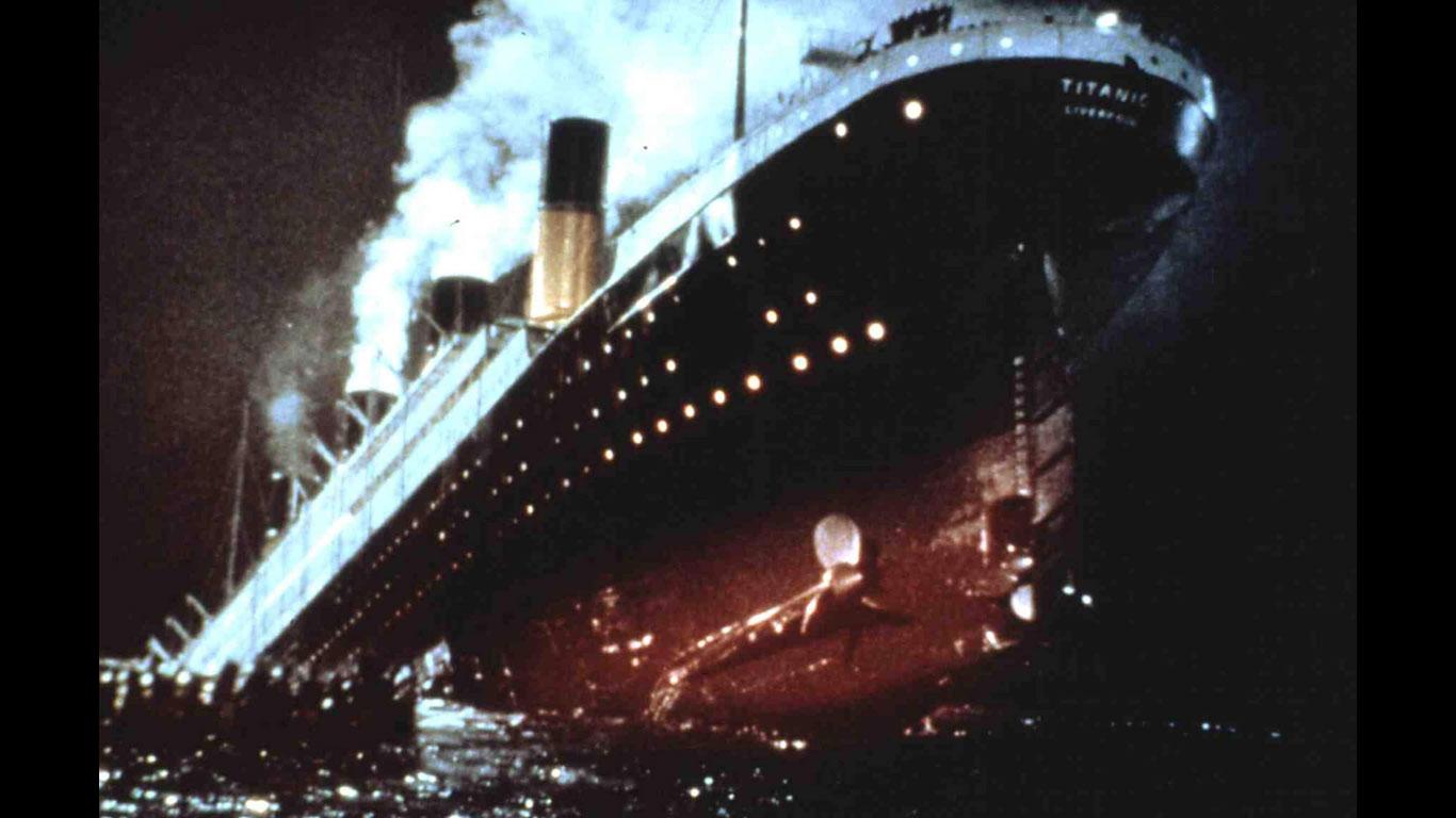 Ein sinkendes Schiff verlassen
