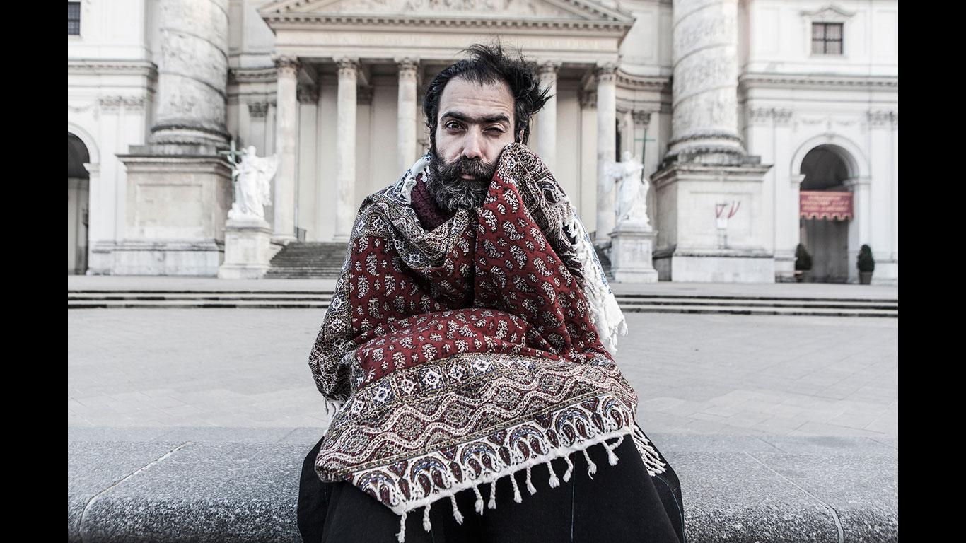 Menschen - Saleh Rozati, (Iran, in Österreich lebend)