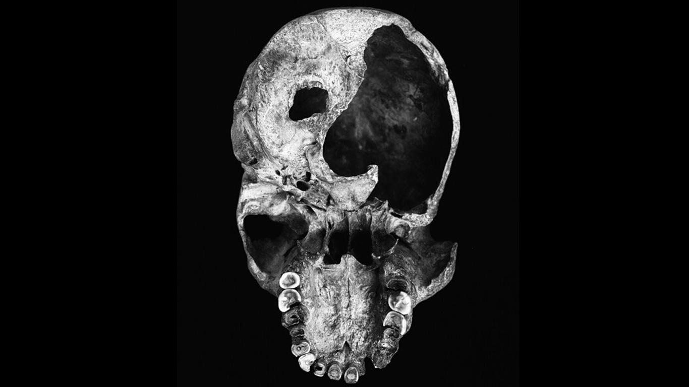 Hatten Urmenschen eine Pistole?