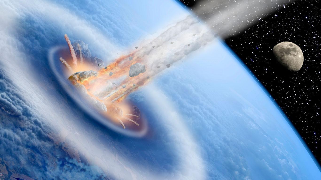 Asteroideneinschlag (äußere Gefahr)
