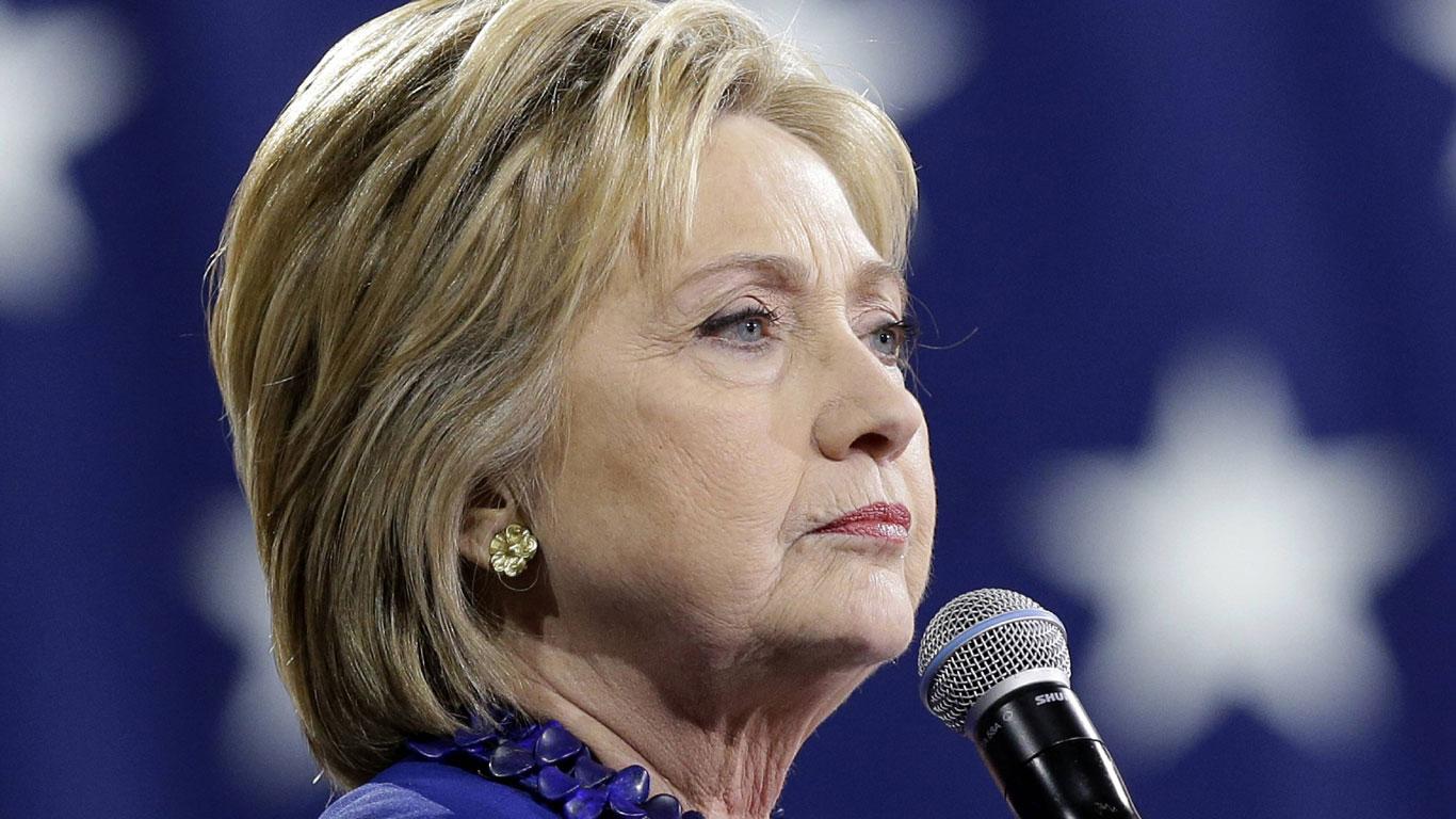 Hillary Clinton (US-amerikanische Politikerin der Demokratischen Partei)