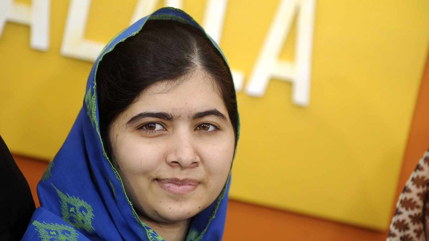 Malala Yousafzai (Kinderrechtsaktivistin)