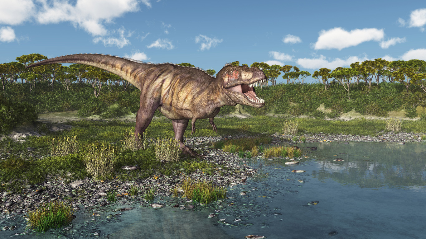 Schreckensherrscher der Dino-Zeit