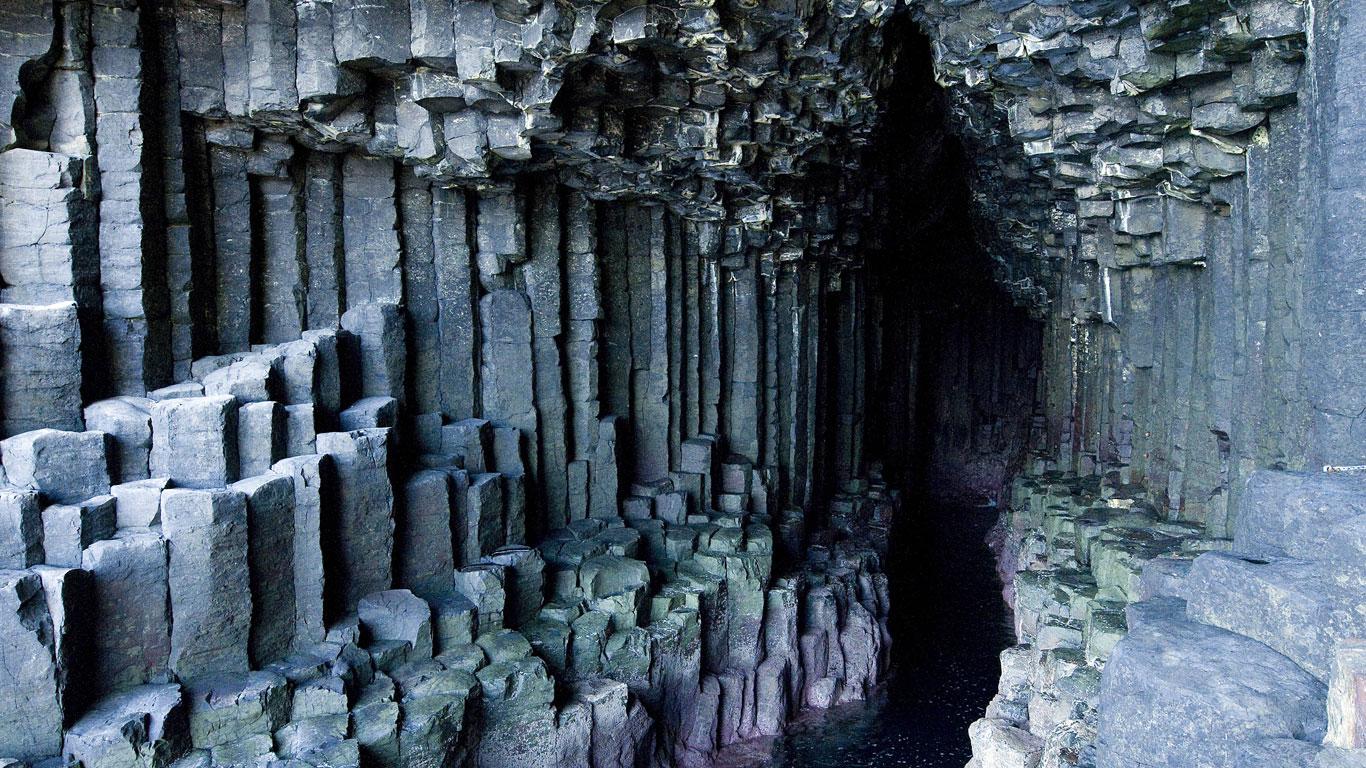 Fingalshöhle, Schottland