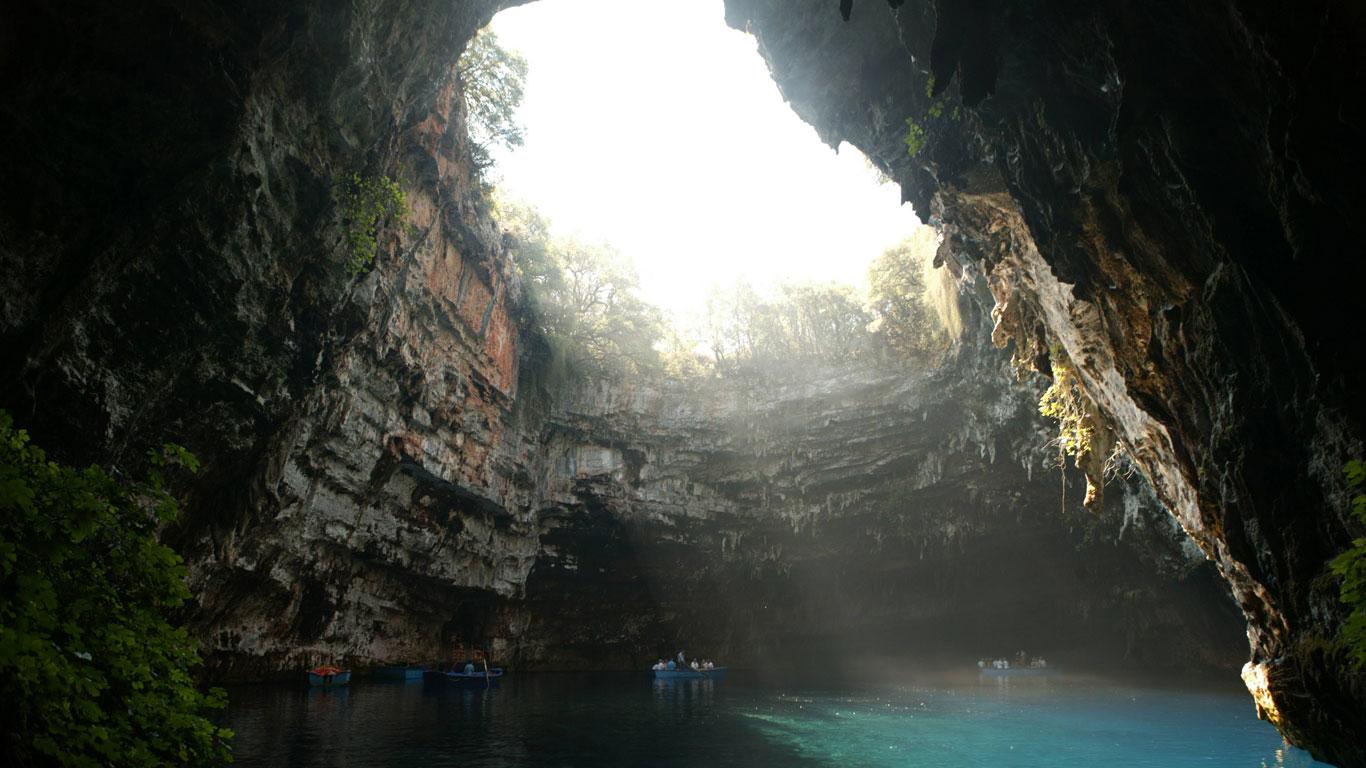 Melissanihöhle, Griechenland