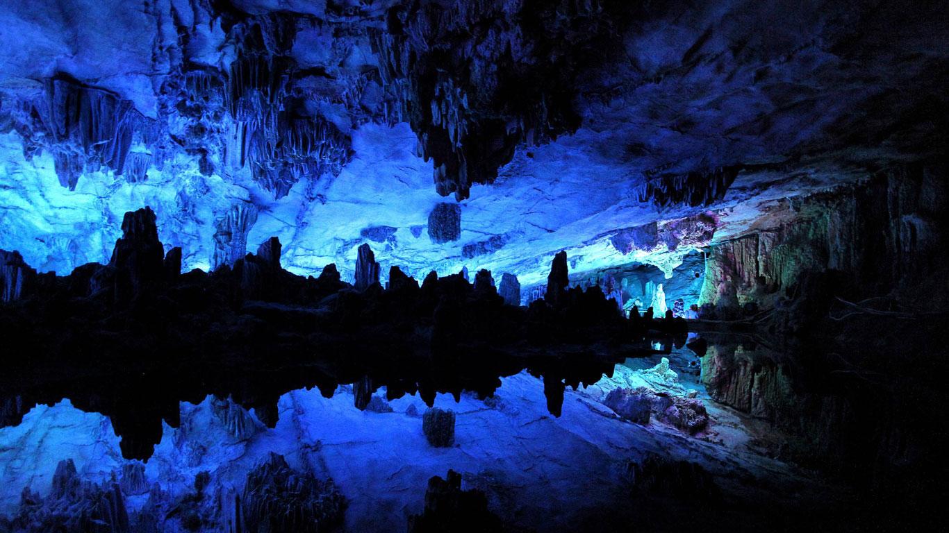 Schilfrohrflötenhöhle, China