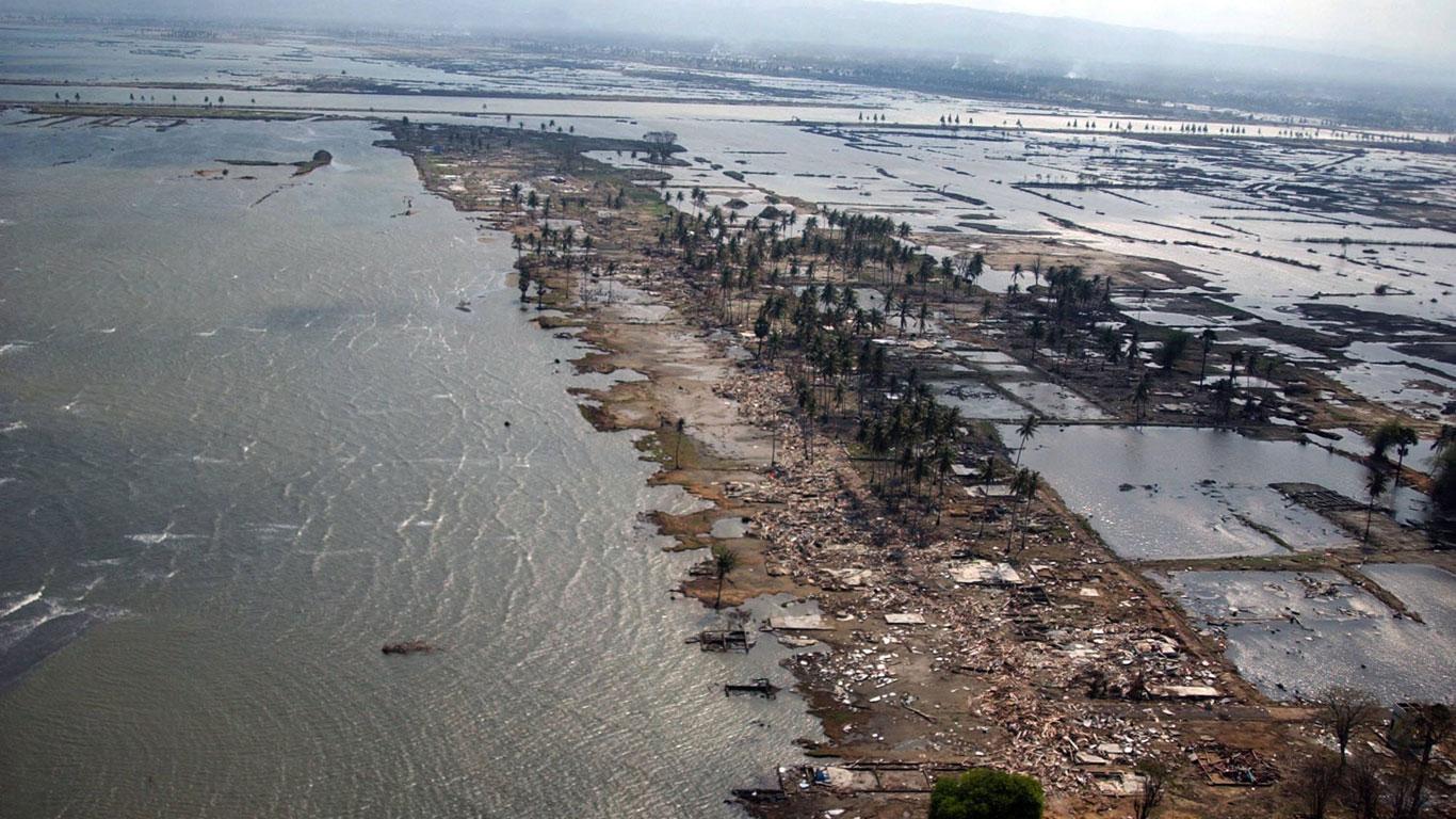 Wie entstehen Tsunamis?