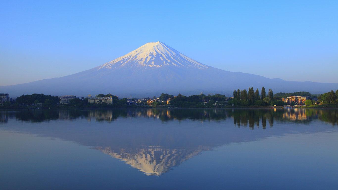 Platz 7: Fujijama, Japan