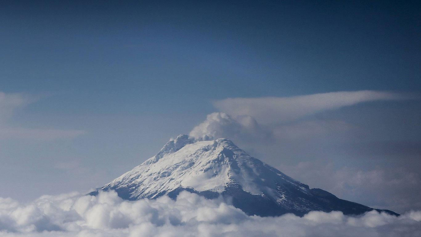 Platz 4: Nevado del Ruiz, Kolumbien
