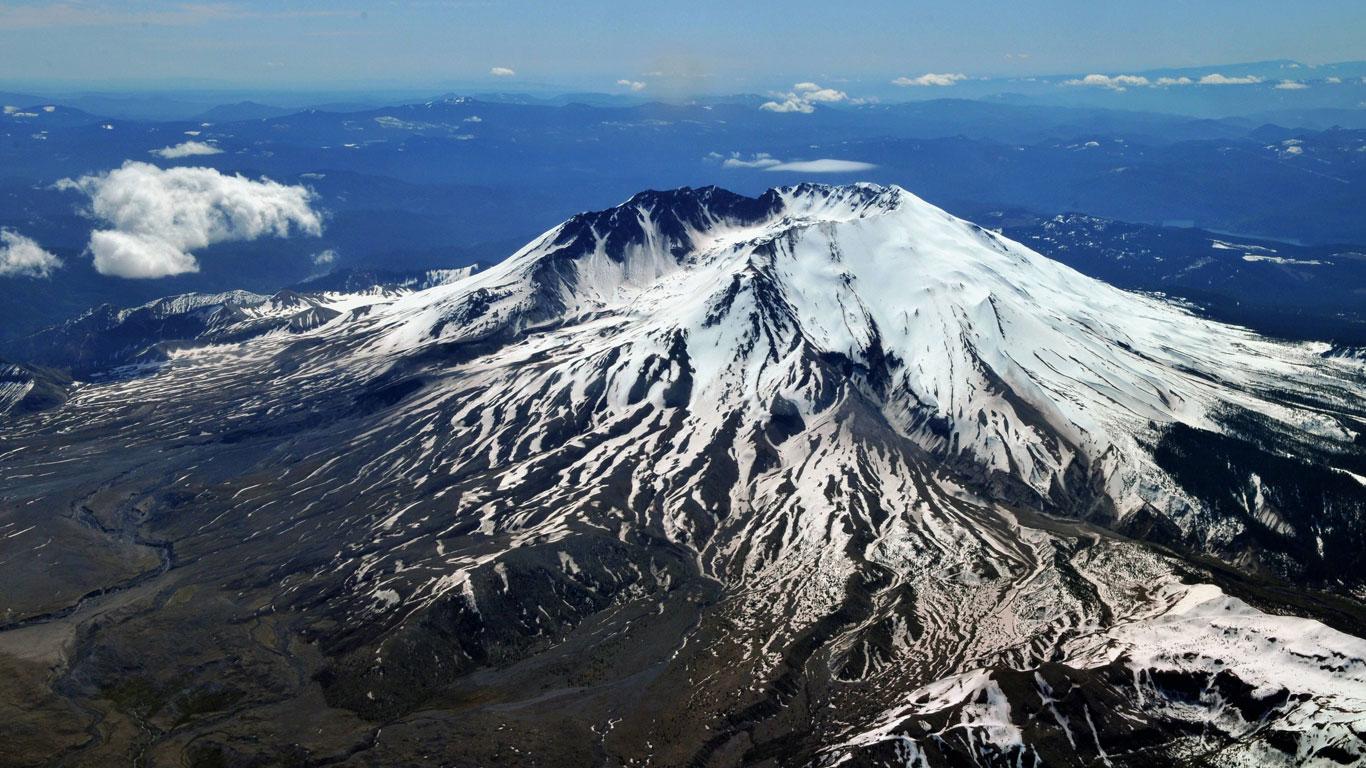 Platz 14: Mount St. Helens, USA