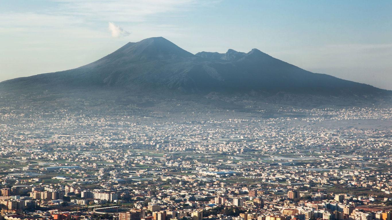 Platz 9: Vesuv, Italien