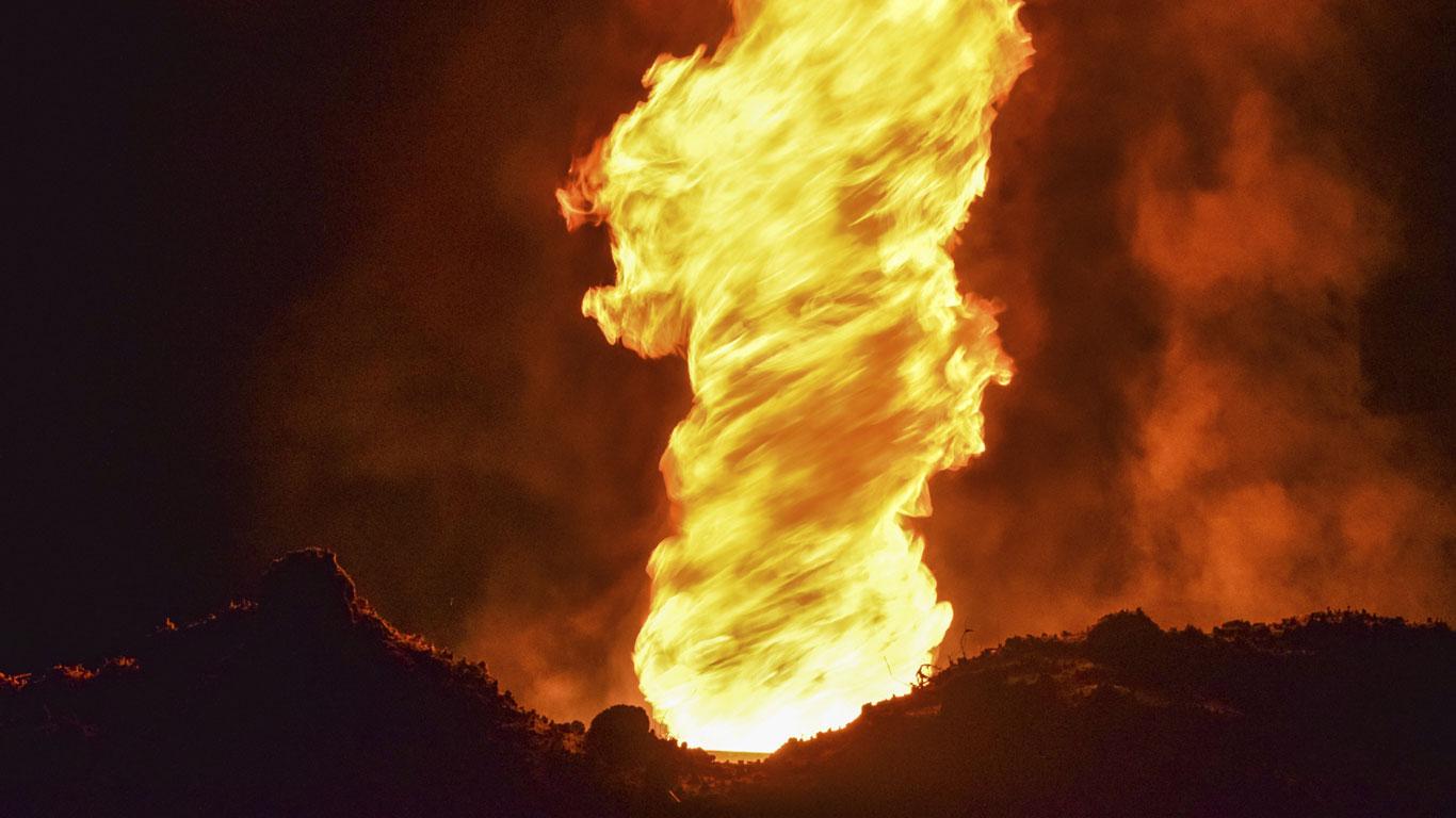 Der Feuertornado