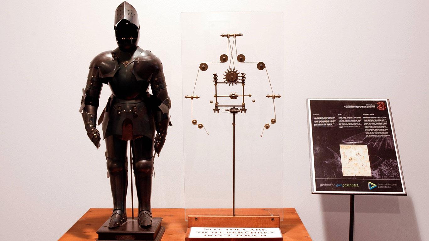 Hat da Vinci den ersten Roboter erfunden?