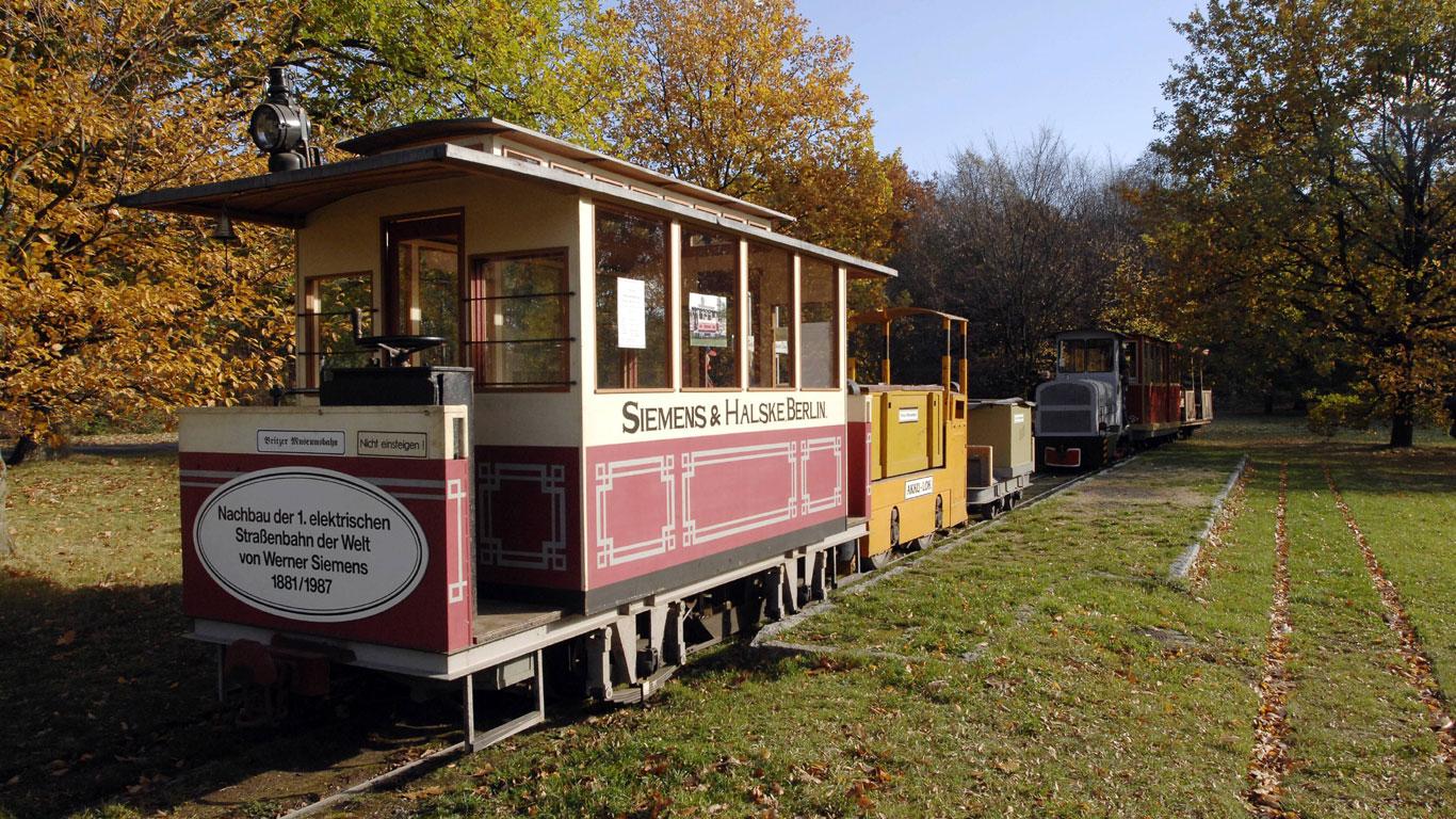 Erfindung der Straßenbahn