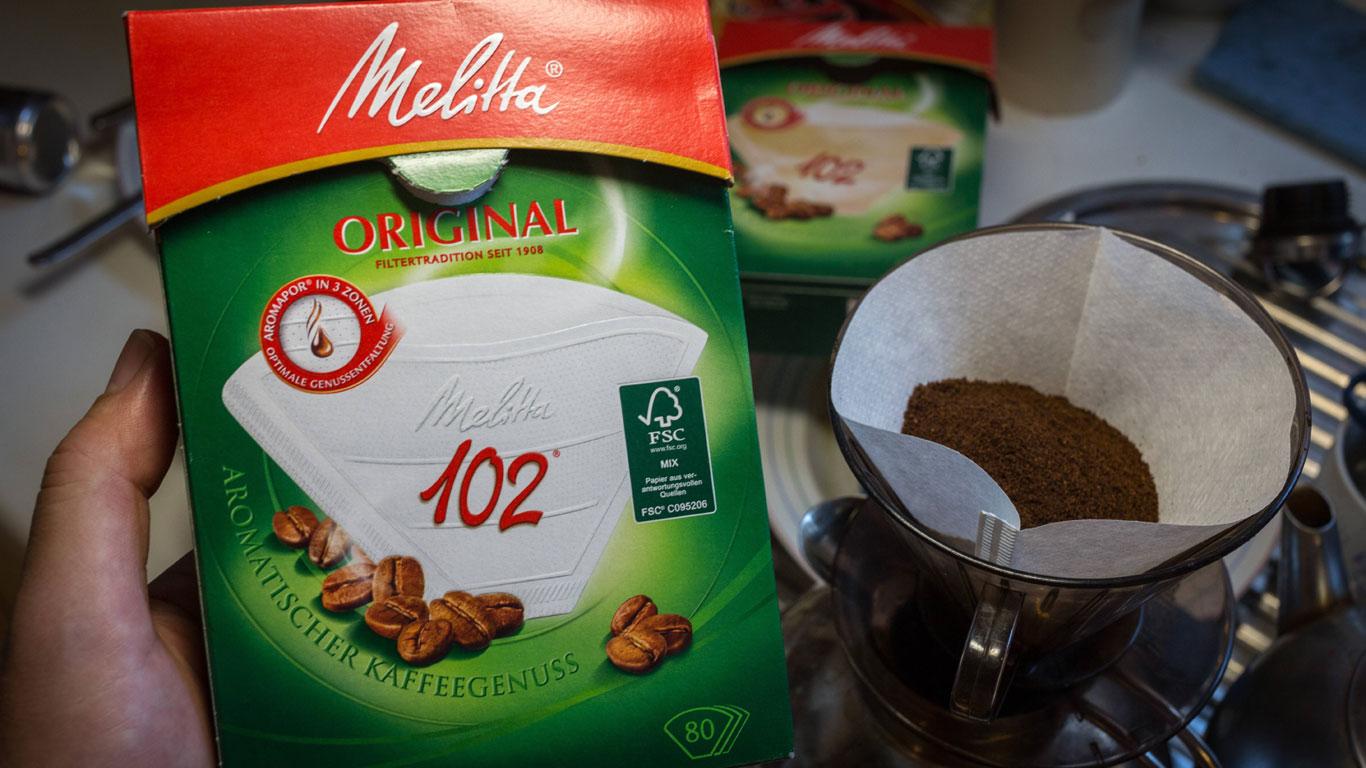 Erfindung des Kaffeefilters