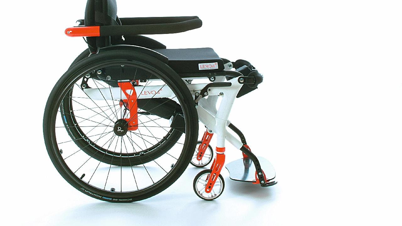 Rahmen von Rollstühlen