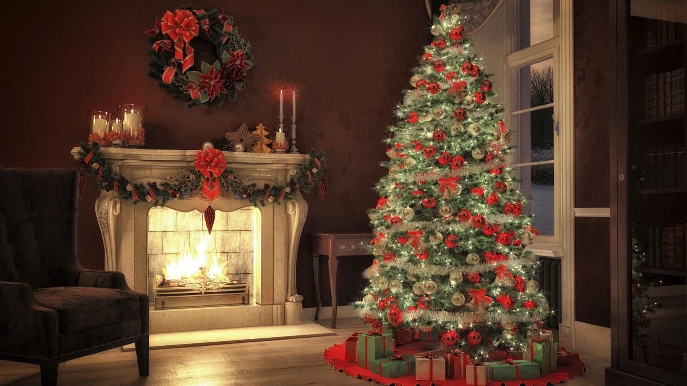 Die Tanne Im Wohnzimmer Warum Stellen Wir Weihnachtsbaume Auf
