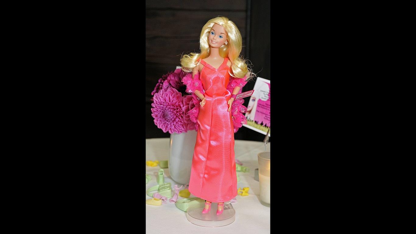 Die klassische Barbie