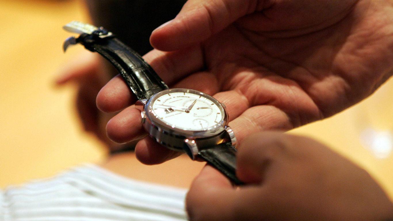 Uhr-Diebstahl