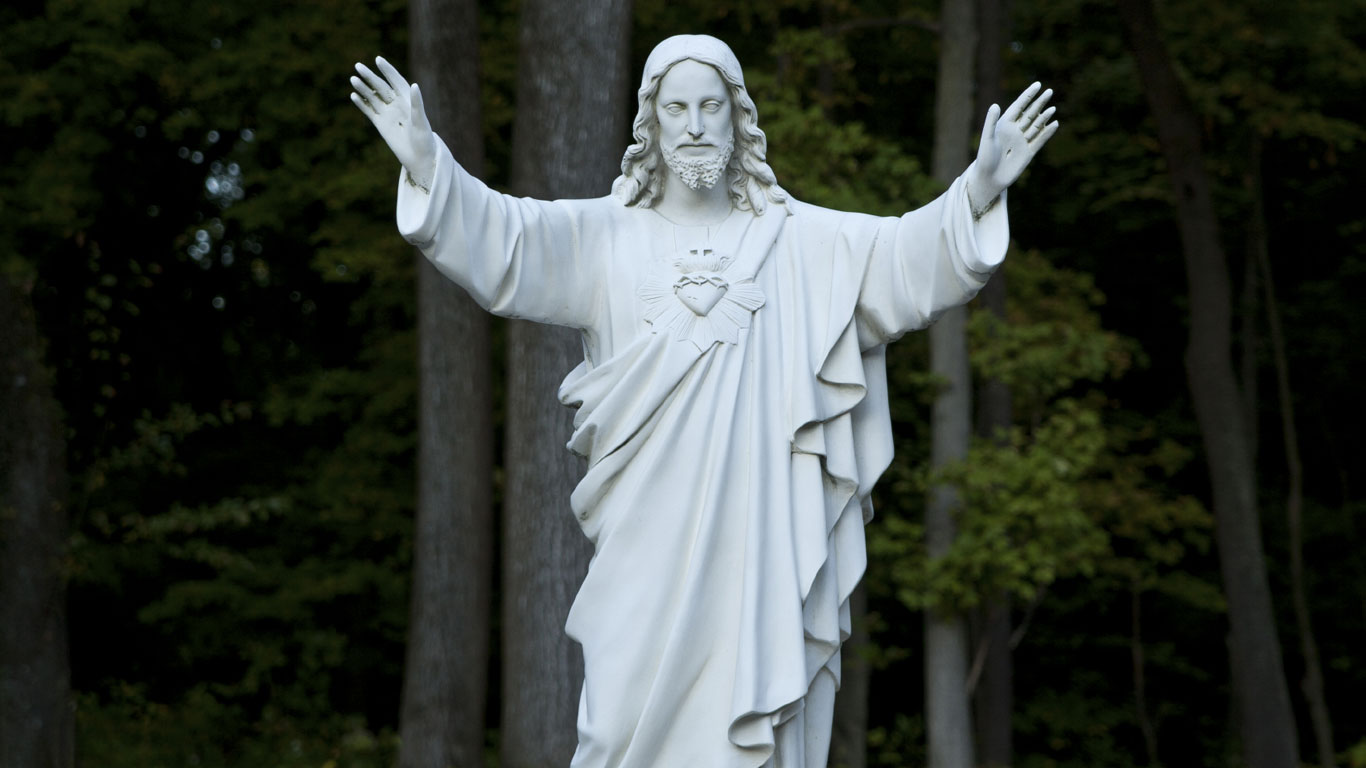 Jesusstatue