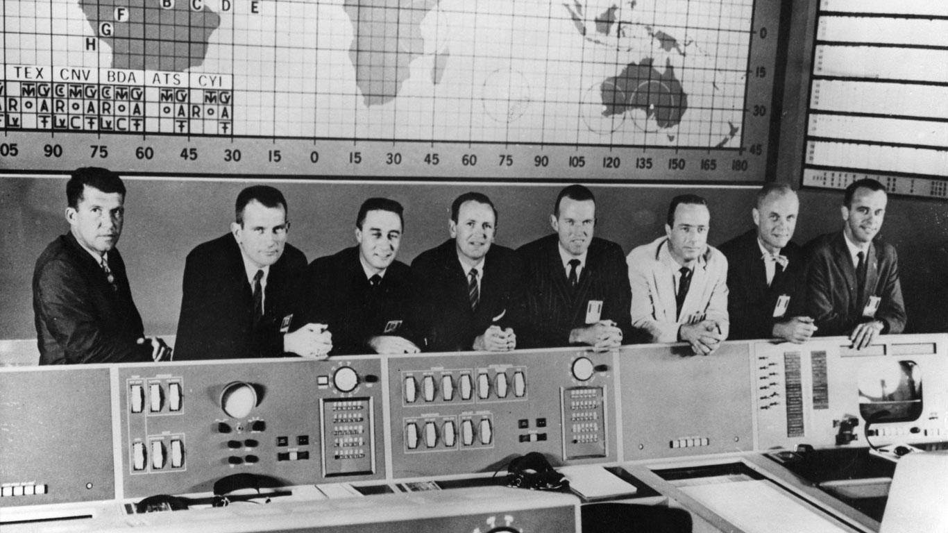 5. Mai 1961: Alan Shepard